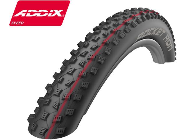 """SCHWALBE Rocket Ron Folding Tyre 26"""" Addix Speed SnakeSkin TL-Easy"""